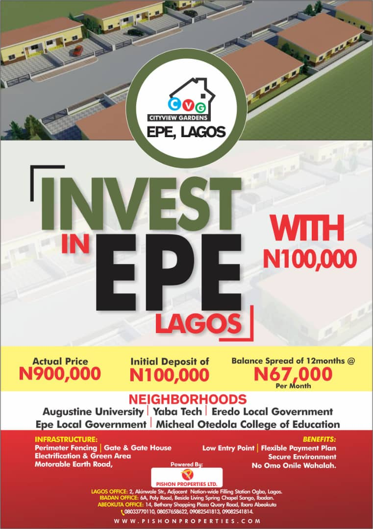 Invest in Epe Lagos